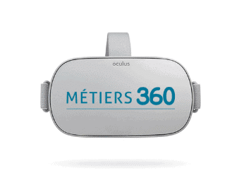 Les caques Oculus Go Métiers 360