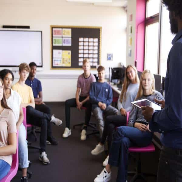 La découverte des métiers en classe entière