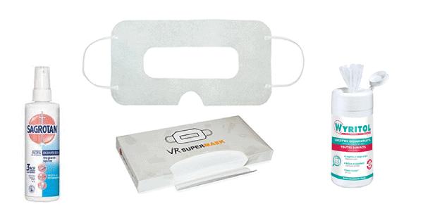 Kit hygiène et sécurité pour la réalité virtuelle